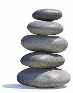 zen stones small